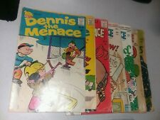 Dennis the Menace 7 issue silver bronze age comics lot run set collection pines