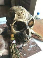 Borneo Monkey Magically Inscribed Very Old. Trade Beads. From a TribalChief's