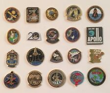 LOT of 20 NASA LAPEL PINS Space Shuttle STS Missions Mars Rover Skylab Apollo