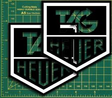 Tag Heuer racing formular1 Cafe Racer  Race & Rally Car Super Bike GP Stickers.