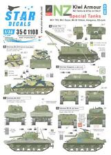 Star Decals 1/35 KIWI ARMOR Part 1 NEW ZEALAND SPECIAL TANKS IN ITALY