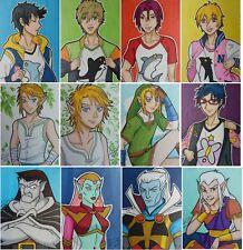 PICK 4 ACEO card LOT anime fanart ATC Link Zelda Free Gargoyles Disney Goliath