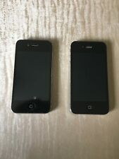 Two iPhone 4s black 16gb in good working order and Excellent condition