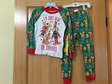 NWT Disney Store Christmas Boys Mickey Mouse Pajama set Holiday 4,5,6