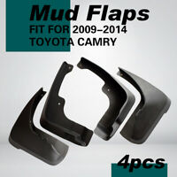 4pcs Car Mud Flaps Splash Guards Mudguard Fit For Toyota Camry 2009-2014