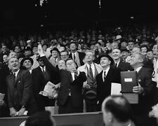 35th US President JOHN KENNEDY JFK Glossy 8x10 Photo 1st Pitch Poster Senators