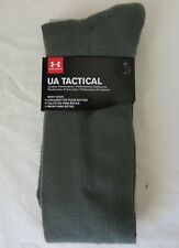 Under Armour Tactical Boot Socks Over The Calf #1211106 Olive Size L
