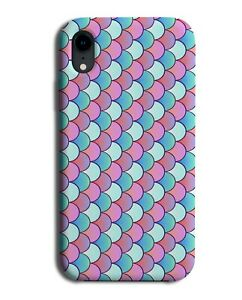 Mermaid Scale Phone Case Cover Scales Pattern Fish Tail Mermaids Purple FIn M501