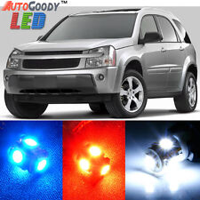 8 x Premium Xenon White LED Lights Interior Package Upgrade for Chevy Equinox