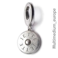 Silber Charm s Scheibe Anhänger Jette Joop silver pendant