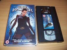 TOMB RAIDER LAURA CROFT ACTION WOMAN VHS