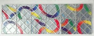 Matchbox Rubik's, Magic Rings Puzzle, Grey/Silver, 12 squares, 1987