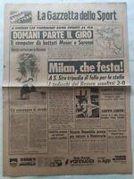 GAZZETTA DELLO SPORT 16-5-1979 MILAN-BAYERN MONACO 2-0 CATANZARO-CAGLIARI GIRO