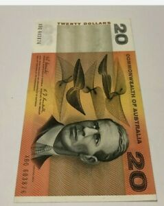 Rare 1967 Coombs Randall $20 Note Aunc UNC