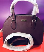 Kate Spade Handbag Reiley Laurel Way Gardenia Deepplum RRP£375 On Sale
