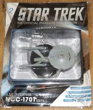 Eaglemoss Star Trek Starships - USS Enterprise 1701 (2271) - Issue 2; New.