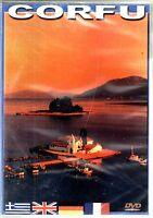 CORFU  - GREECE GREEK ISLANDS  - DOCUMENTARY  DVD NEW