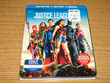 Justice League (3D/Blu-ray/Digital) + Trading Cards Best Buy Exclusive Slipcover