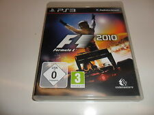 PlayStation 3 PS 3  F1 2010