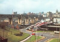 Royal Mail Postcard, The High Level & Swing Bridges, Newcastle Upon Tyne 38S
