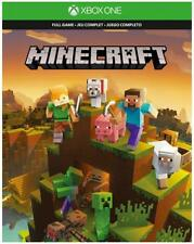 Xbox one Minecraft ,Starter and Creators plus 1,000 Minecoins Bonus Cards Bundle