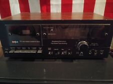 BIC T-1 2 Speed Cassette Deck - Excellent Condition Tested