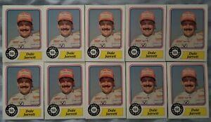 1988 MAXX DALE JARRETT ROOKIE CARDS - lot of 10