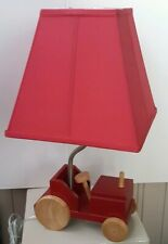 The Little Red Tractor Children's Lamp