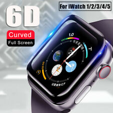 For Apple Watch Series 5 4 3 2 6D Tempered Glass Screen Protector 38/40/42/44 mm
