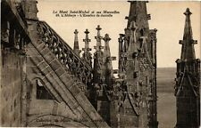 CPA   Le Mont- Saint-Michel-  et ses Merveilles -L'Abbaye - L'Escalier  (209658)