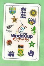 1999 CRICKET WORLD CUP PLAYING CARD - JACQUES KALLIS  IN COLOURS