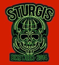 2014 STURGIS RALLY Pinstripe Goblin 4.5 INCH IRON ON BIKER PATCH