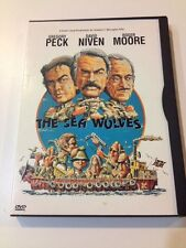 ☀️The Sea Wolves DVD 1999 Roger Moore Gregory Peck French Subtitle R1 MINT