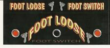 Foot Loose Footswitch 2 Stickers / Decals