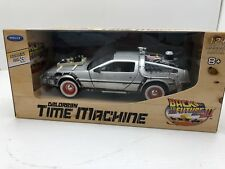 Welly Diecast Metal 1:24 Back to the Future 3 III Delorean Time Machine