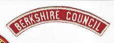 BOY SCOUT BERKSHIRE COUNCIL  R&W COUNCIL HALF STRIP   RATED# 9