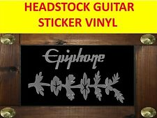 EPIPHON SHERATON SILVER HEADSTOCK STICKER VISIT OUR STORE WITH MANY MORE MODELS