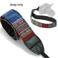 Vintage Camera Shoulder Neck Strap Sling Belt forall of cameras brands DSLR