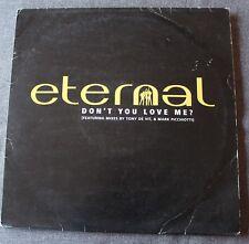 Eternal, don't you love me ?, double Maxi vinyl  Promo