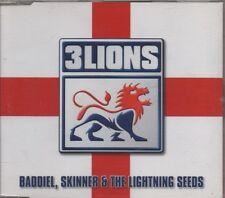 BADDIEL & SKINNER & LIGHTNING SEEDS Three Lions   4 TRACK CD NEW - NOT SEALED