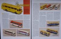 WIKING MERCEDES BENZ O 302 BUS in 1-87 im Vergleich....ein Modellbericht #2008