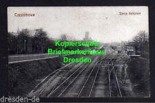 116931 AK Czestochowa Tschenstochau um 1910 Stacja kolejowa Bahnhof