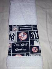 New York Yankees  Hand towel Handmade   GREAT GIFT