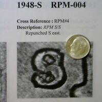 1948 s/s RPM #4 ERROR CH BU Roosevelt Dime SUPER NICE Flashy SILVER Coin  NR