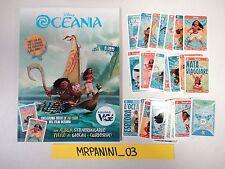 Disney OCEANIA Vege 2017 - ALBUM + Set Completo 28 CARDS
