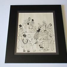 19TH TO 20TH CENTURY BLACK AMERICANA DRAWING ILLUSTRATION COLLECTION SHOW PLAY