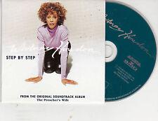 CD CARTONNE CARDSLEEVE 2T WHITNEY HOUSTON STEP BY STEP DE 1996 COMME NEUF