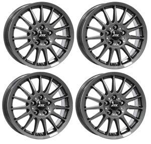 4 ATS Wheels Streetrallye 6.5Jx16 ET38 5x114,3 GRA for TOYOTA Auris Avensis C-HR