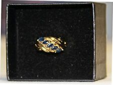 Classic Sapphire Ring Approx. .75CT  Size 6