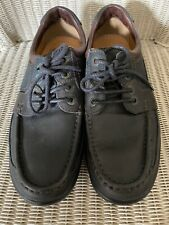 Mens Clarks Active Air Black Lace Up Shoes Size UK 10 Great Condition.